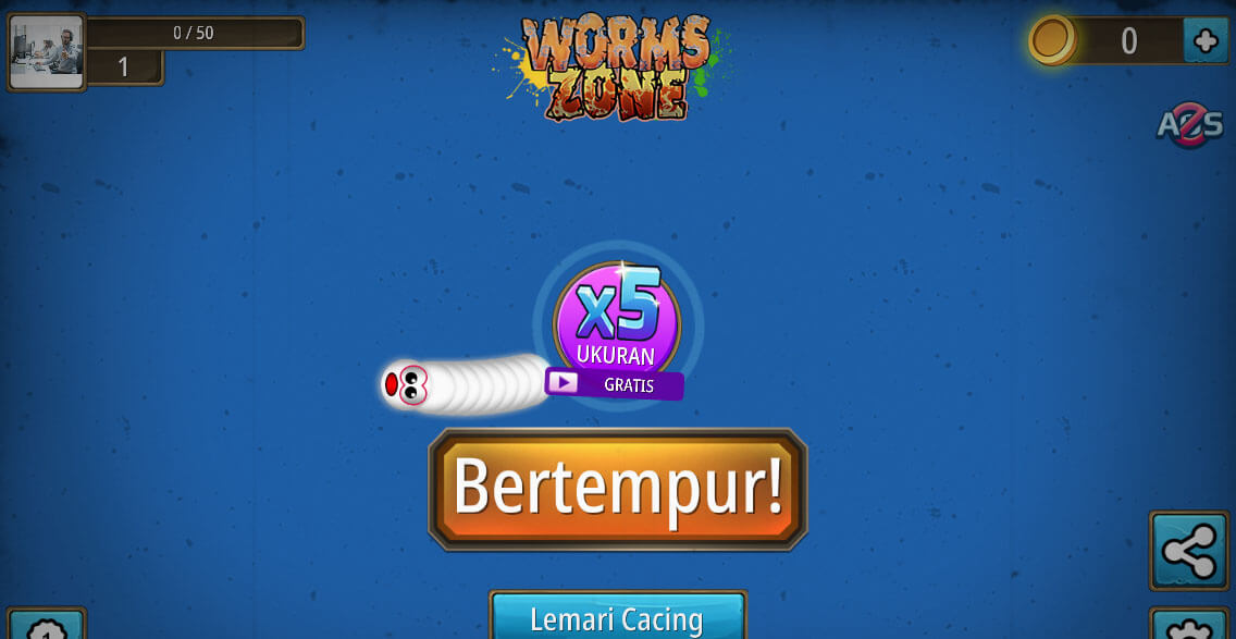 cara mabar worms zone lewat facebook